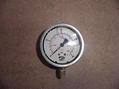 Riduttori di pressione - Manometro in bagno di glicerina ...