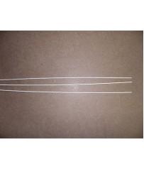 Barretta  saldobrasatura   di tutti i metalli ad alto tenore d'argento 20% .