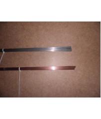 Barrette  Tig acciaio al carbonio 1,6  e inox 308   diam. 1,6 .