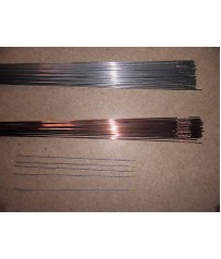 Barrette  Tig acciaio al carbonio e inox 308   diam. 1,6  5 tungsteni oro 1,6 .