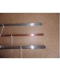 Barrette saldatura Tig  acciaio al carbonio inox 308 e alluminio almg5 .
