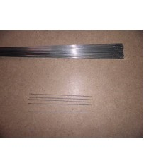 Barrette saldatura Tig acciaio inox 308 diam. 1,6  5 tungsteni oro 1,6 .
