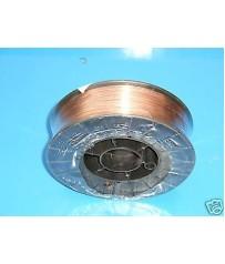 Bobina filo 5 kg  0,8 acciaio  carbonio  saldatura mig