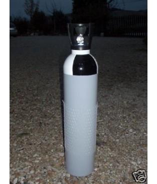 Bombola 14 lt Aria compressa 200 - 300 bar  per armi pcb  Din