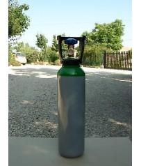 Bombola 5 lt nuova argon miscela ossigeno azoto carica