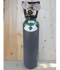 Bombola   Argon  puro carica  da  7 litri,  Europa saldatura  tig con riduttore