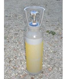 Bombola  CO2  2,67 lt 2 kg alimentare e riduttore carbonazione birra