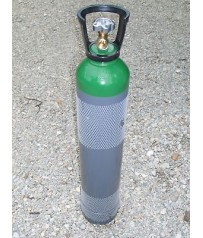 Bombola argon  ricaricabile omologata da 10 litri,