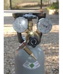 Bombola per CO2 da 5 lt. con riduttore acquario