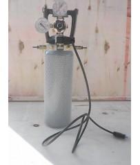 Concimazione carbonica  acquario bombola  riduttore elettrovalvola 2 erogazioni