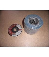 Kit dischi per smerigliatrice angolare 115 mm 10 lamellari e 5 taglio sottili