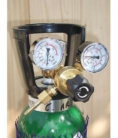 Riduttore  Argon 2 manometri saldatrice tig