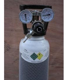 Riduttore ossigeno  2 manometri saldatura autogena cannello